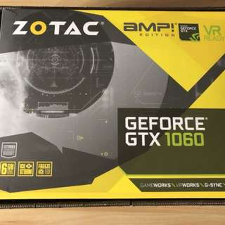 Zotac 1060 6GB AMP!