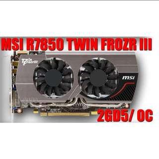 MSI HD 7850 Twin Frozr III OC 2GB