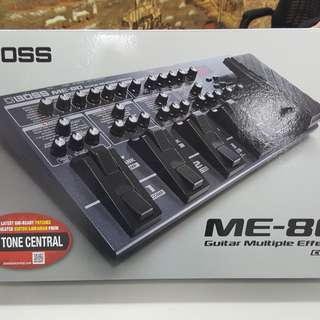 BNew ME-80 Boss Guitar Effects
