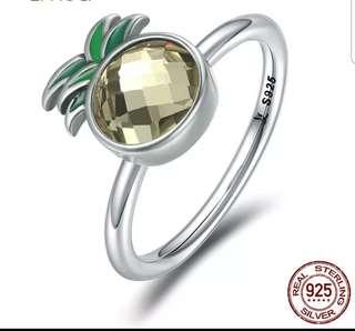 P2mart.com ✌ 100% 925 sterling silver  Pineapple  Rings