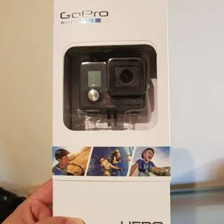 GoPro Hero with accessories