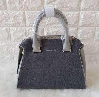 C&K Double Zip Trapeze Bag