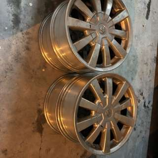 "16"" Toyota alloy rims"