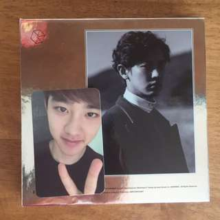 🔥D.O EXODUS photo card (sell or exchange)🔥