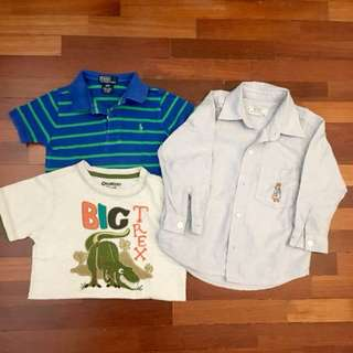 Bundle preloved boys clothes
