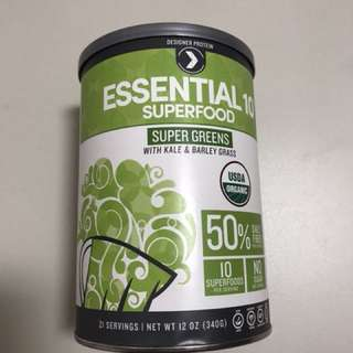 Essential 10 Superfood Super Greens with Kale & Barley Grass