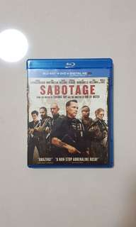 Sabotage Bluray