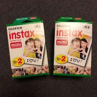 Instax mini film 10x2