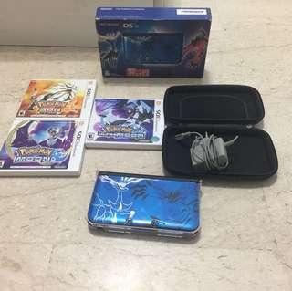 Nintendo 3DS XL pokemon limited edition