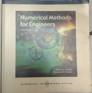 Numerical Methods for Engineers McGrawHill 5th Edition