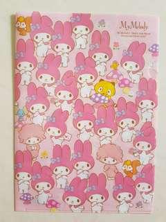 My Melody A4 folder