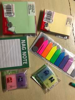 Sticky Notes, Tabs and Erasers