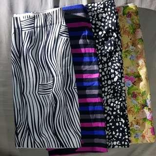 Bundle skirts