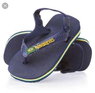 Baby Havaianas brazil flip flop