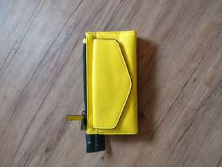 Never Used Yellow Wallet from Topshop