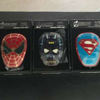 BN Avengers Powerbank