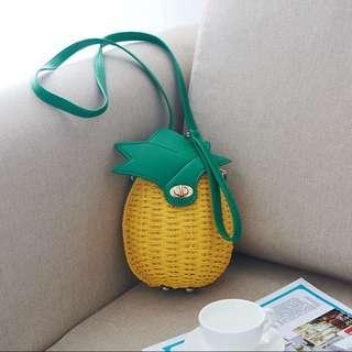 [PO] Pineapple Sling Bag
