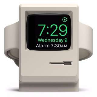 🍎⌚️ Apple computer style Apple watch charger holder (charging cable not included!) - stock is limited!! Suitable for apple watch series 1/2/3 (充電座不連表和充電線)