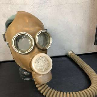 50' s German Gas Mask