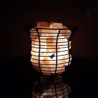 "3kgs Himalayan ""Basket"" Salt Lamp"