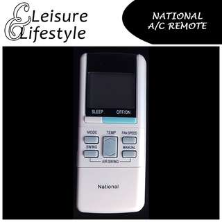 [A/C Remote] National