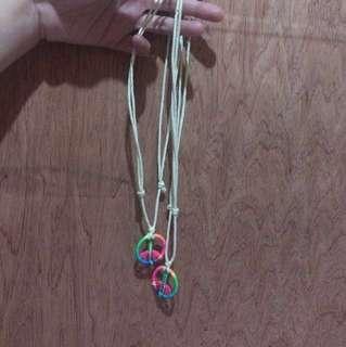 Couple Hippie Necklace