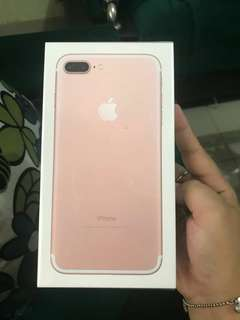 Iphone 7+ 32gb Rose Gold
