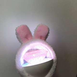 SEVENTEEN CARATBONG LIGHTSTICK BUNNY EARS COVER HAT