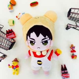 [出] BTS玩偶衣櫥餅乾五代韓推娃衣