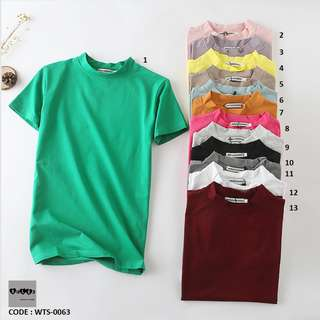 🌟BEST Sellers🌟 Cotton Tshirt WTS-0063