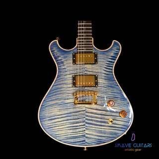 Knaggs Keya T2 Blue Marlin Flame Maple