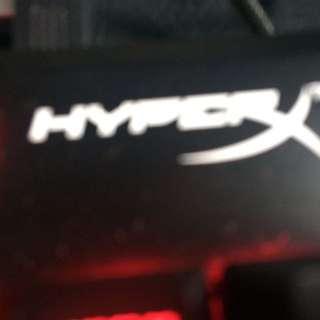 HyperX alloy fps cherry mx blue keyboard
