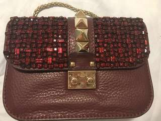 Authentic Valentino rock stud flap bag (limited edition)