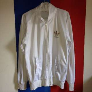 Tracktop Adidas Jacket size M fit To L