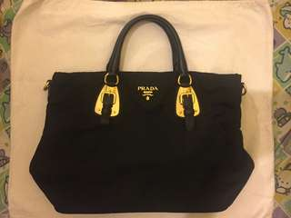 prada two ways bag