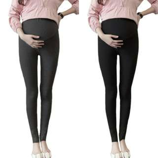 FLORAL LACE MATERNITY LEGGING PANTS