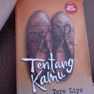 Preloved novel tere liye tentang kamu