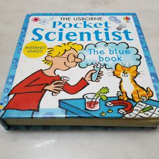 The Usborne Pocket Scientist - The Blue Book
