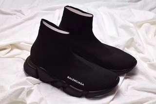 Balenciaga speed all black