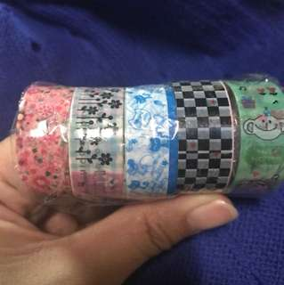 Last Washi Tapes