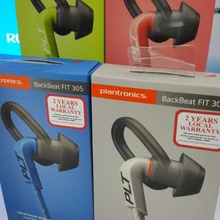 Plantronics Backbeat FIT 305 (Local 2Years Warranty)