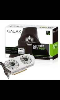 Galax GTX1050ti exoc white edition