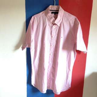 Kemeja Button Down Tommy Hilfiger