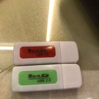 SD, micro SD, Compact 4合1 讀卡器