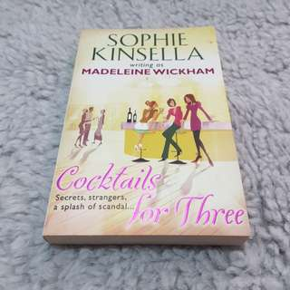 Cocktails for Three - Sophie Kinsella (as Madeleine Wickham) [Chick Lit/Romance]