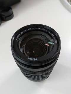 Canon 18-35mm lens