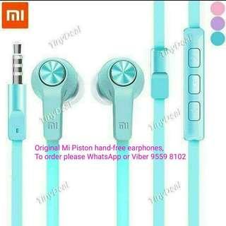 Xiaomi Mi Piston Hand-free Earphones~Youth Edition