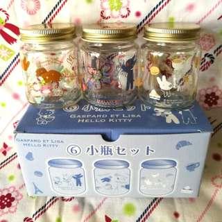 Gaspard et Lisa x Hello Kitty 小瓶套裝 日本製