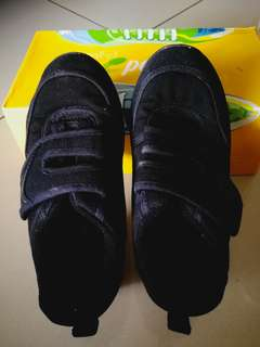 Pallas Black School Shoes