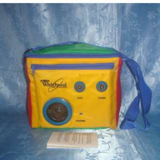 Missy's WHIRLPOOL Cooler Bag with Speaker